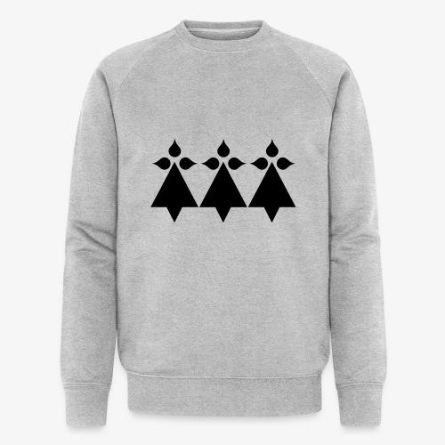 hermines - Sweat-shirt bio Stanley & Stella Homme