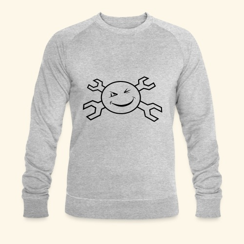 logo_atp_black - Men's Organic Sweatshirt by Stanley & Stella
