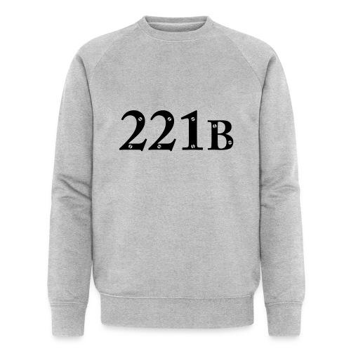 Sherlock Holmes - 221B - Männer Bio-Sweatshirt von Stanley & Stella