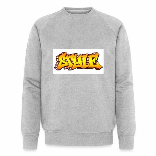 Camiseta estilo - Sudadera ecológica hombre