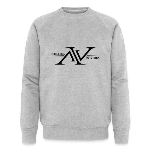 Nullius In Verba Logo - Men's Organic Sweatshirt by Stanley & Stella