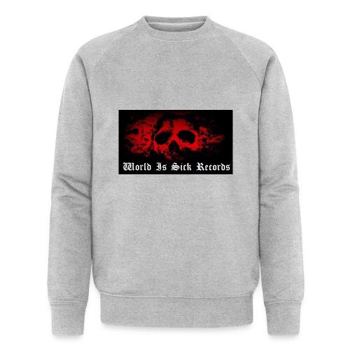 World Is Sick Skull Huppari - Miesten luomucollegepaita