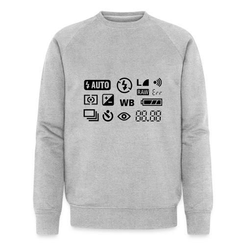 Fotograf - Männer Bio-Sweatshirt