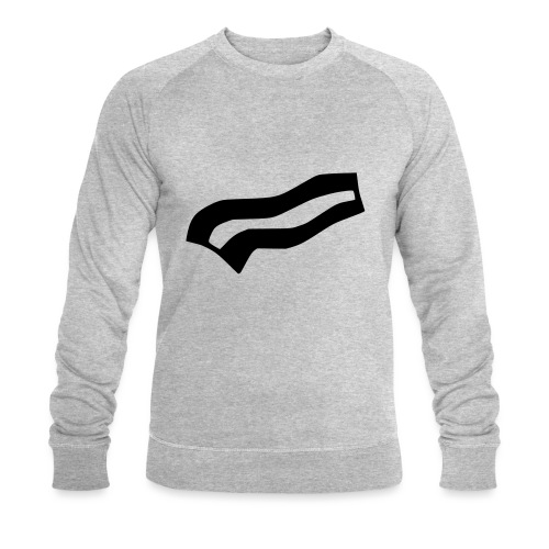 Crispy bacon - Men's Organic Sweatshirt by Stanley & Stella