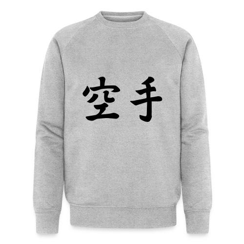 karate - Mannen bio sweatshirt