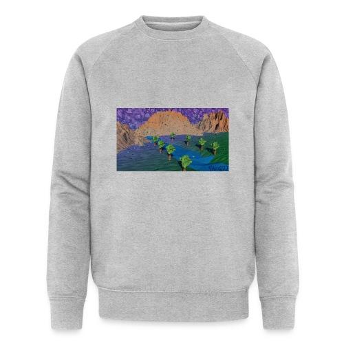 Silent river - Men's Organic Sweatshirt by Stanley & Stella