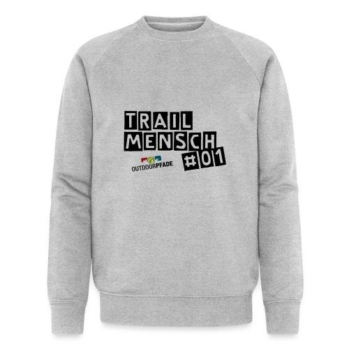 TrailMensch#01m - Männer Bio-Sweatshirt von Stanley & Stella