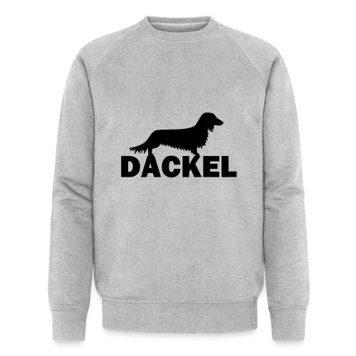 Dackel - Männer Bio-Sweatshirt von Stanley & Stella