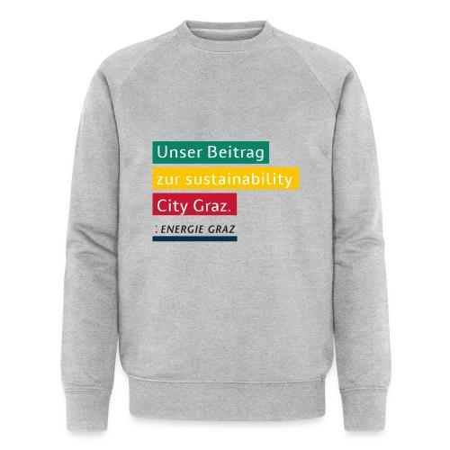 Energie Graz Vision - Männer Bio-Sweatshirt