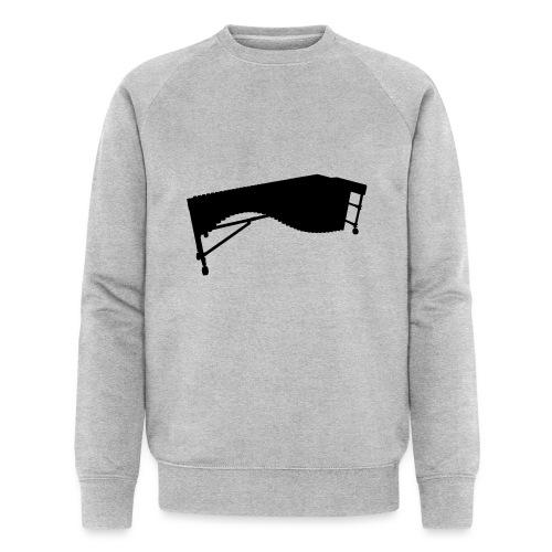 Marimba Kontur - Männer Bio-Sweatshirt