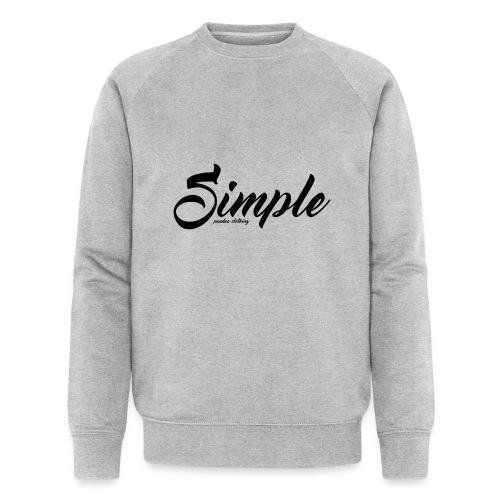 Simple: Clothing Design - Men's Organic Sweatshirt by Stanley & Stella