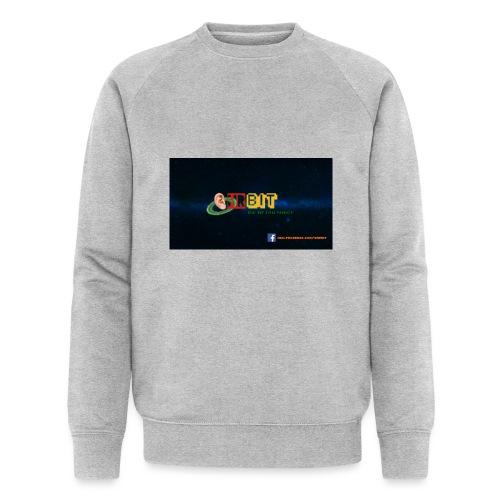 OhrBit Logo - Männer Bio-Sweatshirt