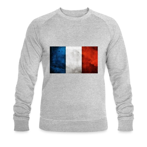 France Flag - Men's Organic Sweatshirt