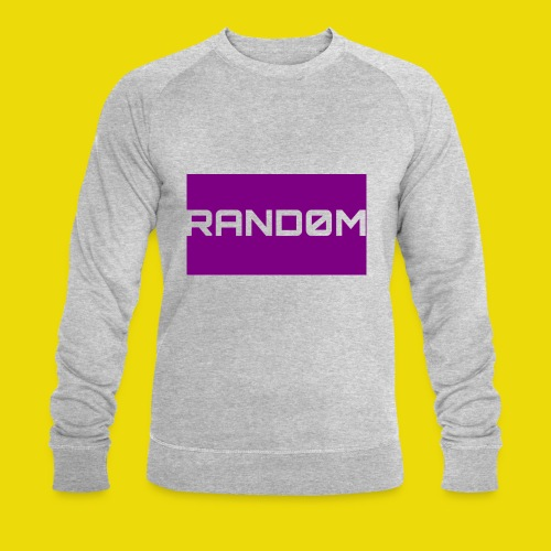 Random Logo - Men's Organic Sweatshirt