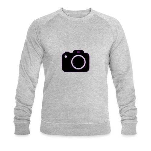 FM camera - Men's Organic Sweatshirt by Stanley & Stella
