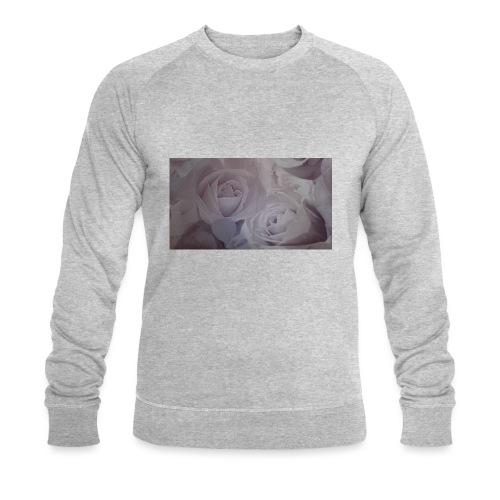 perfect pink rose's - Men's Organic Sweatshirt by Stanley & Stella