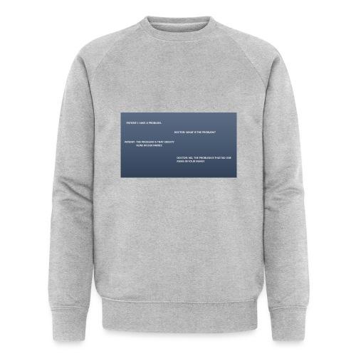Running joke t-shirt - Men's Organic Sweatshirt by Stanley & Stella