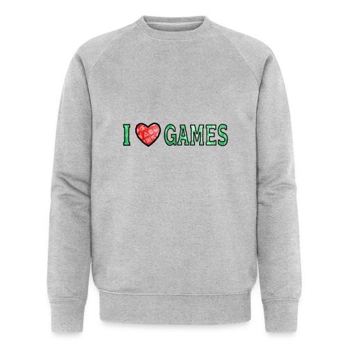 I Love Games - Ekologiczna bluza męska Stanley & Stella