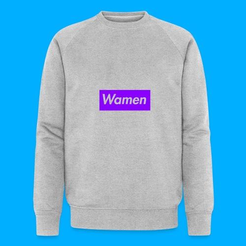 Wamen T-Shirt Design - Men's Organic Sweatshirt by Stanley & Stella