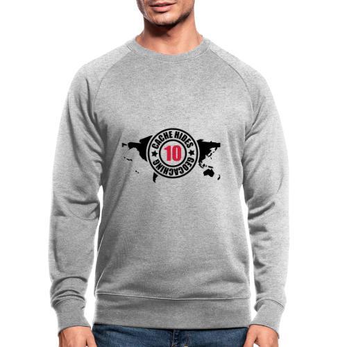 cache hides - 10 - Männer Bio-Sweatshirt