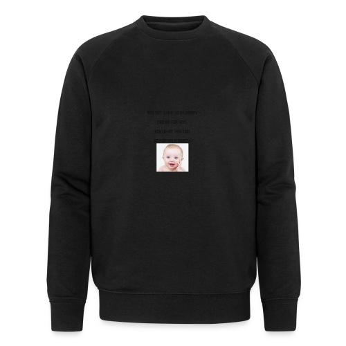 daddy tshirt sort tekst - Men's Organic Sweatshirt by Stanley & Stella