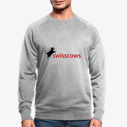 Swisscows Logo - Männer Bio-Sweatshirt