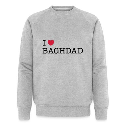 I LOVE BAGHDAD - Men's Organic Sweatshirt