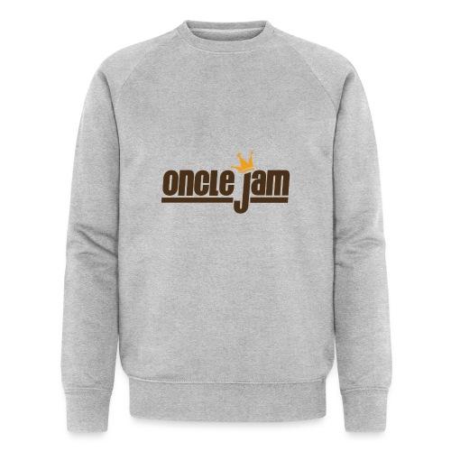 Oncle Jam horizontal brun - Sweat-shirt bio Stanley & Stella Homme