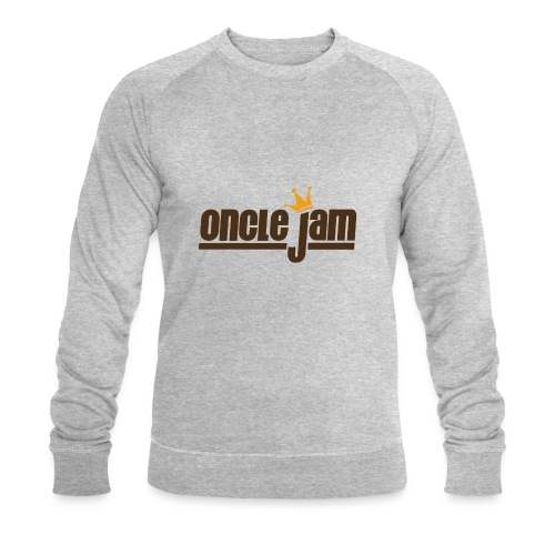 Oncle Jam horizontal brun - Sweat-shirt bio