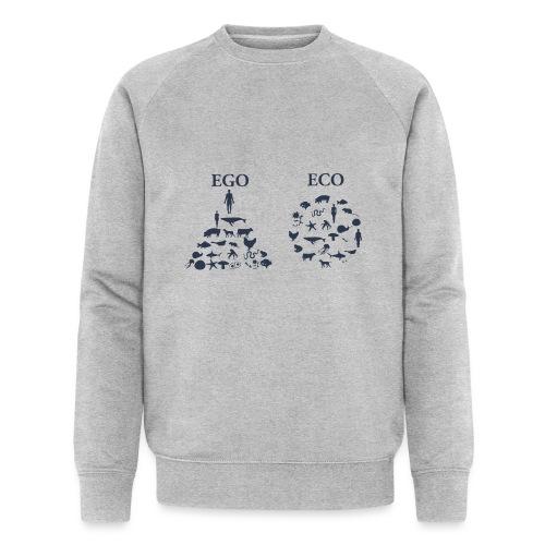 Ego VS Eco - Felpa ecologica da uomo