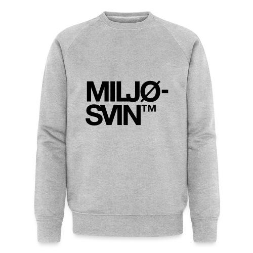Miljøsvin (tm) - Det norske plagg - Økologisk sweatshirt for menn fra Stanley & Stella