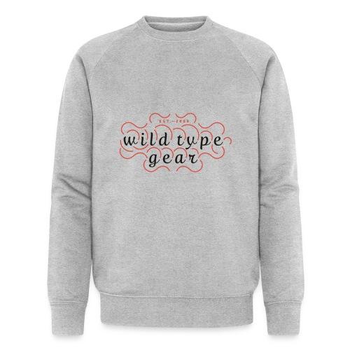 wtg stiched 2 - Men's Organic Sweatshirt by Stanley & Stella