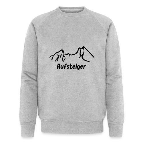 Bergsteiger Shirt - Männer Bio-Sweatshirt
