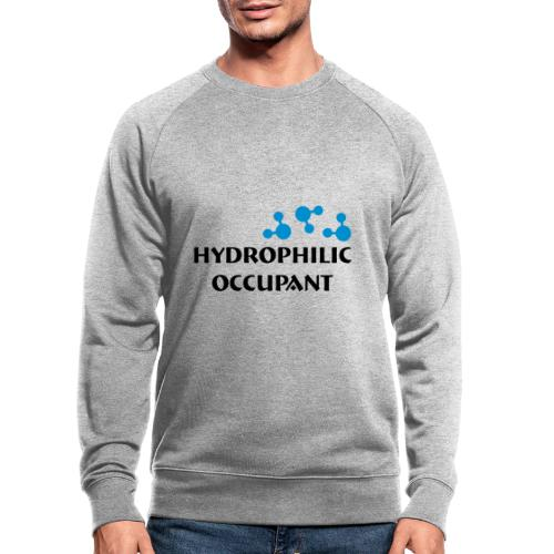 Hydrophilic Occupant (2 colour vector graphic) - Men's Organic Sweatshirt by Stanley & Stella