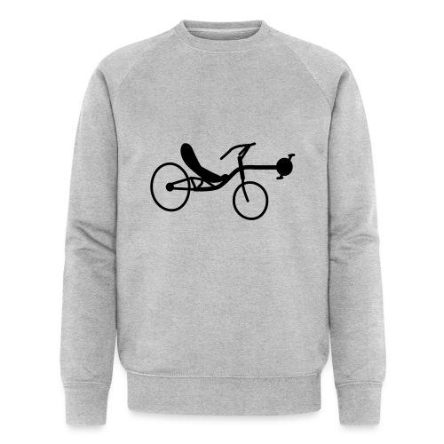 Liegerad Streetmachine 2 - Männer Bio-Sweatshirt