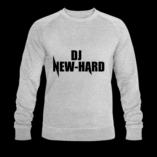 DJ NEW-HARD LOGO - Mannen bio sweatshirt