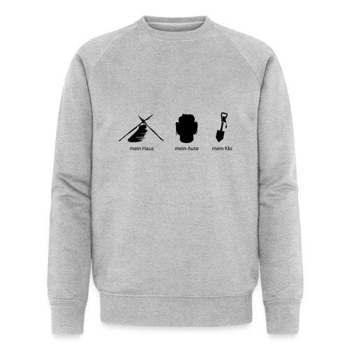 Haus Auto Klo - Männer Bio-Sweatshirt von Stanley & Stella