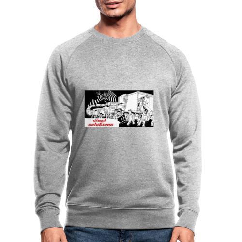 vinyl solutionz - Men's Organic Sweatshirt