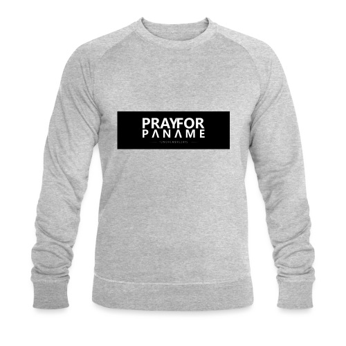 TEE-SHIRT HOMME - PRAY FOR PANAME - Sweat-shirt bio Stanley & Stella Homme
