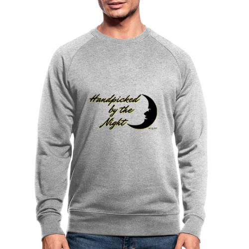 Handpicked design By The Night - Logo Black - Men's Organic Sweatshirt