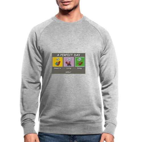 A Perfect Day Halmi - Comic - Männer Bio-Sweatshirt