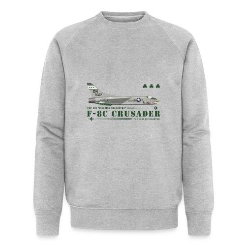 F-8C Crusader VMF-333 - Men's Organic Sweatshirt by Stanley & Stella