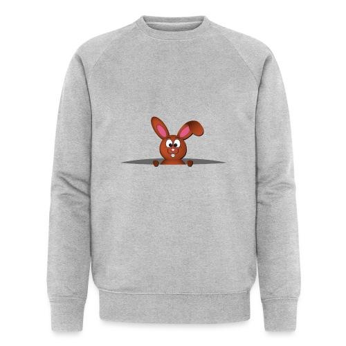 Cute bunny in the pocket - Felpa ecologica da uomo di Stanley & Stella