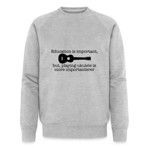 Important Ukulele - Men's Organic Sweatshirt