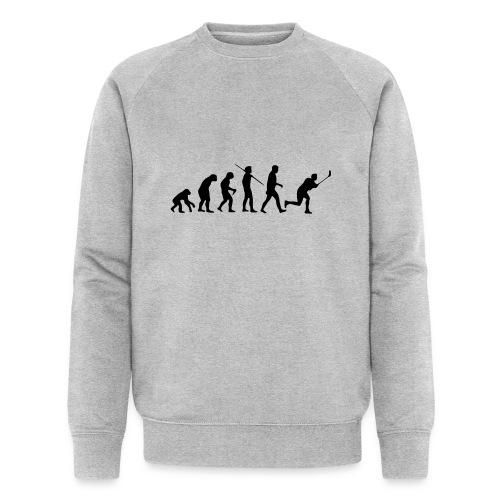 Floorball Evolution Black - Männer Bio-Sweatshirt von Stanley & Stella