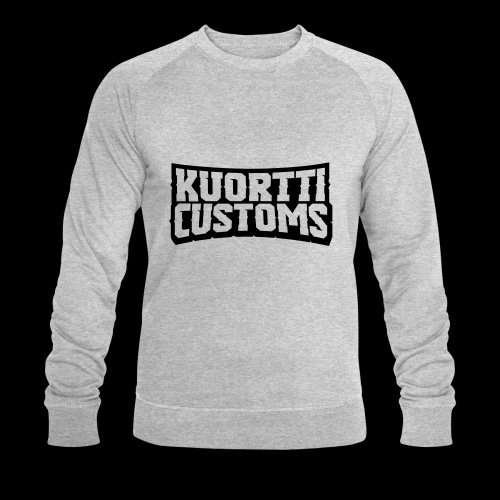 kuortti_customs_logo_main - Miesten luomucollegepaita
