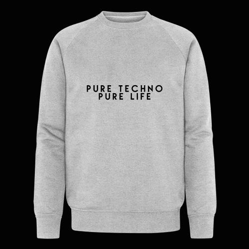Pure Techno Pure Life Black - Männer Bio-Sweatshirt von Stanley & Stella