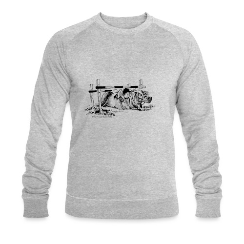 PonyFall Thelwell Cartoon - Men's Organic Sweatshirt by Stanley & Stella