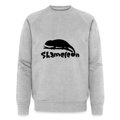 logoskameleon - Männer Bio-Sweatshirt