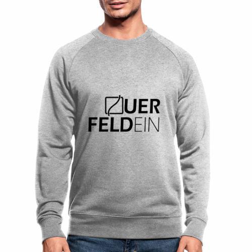Querfeldein Logo - Männer Bio-Sweatshirt